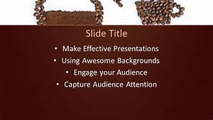 Free Coffee Beans Powerpoint Template