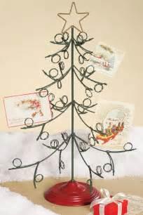 christmas card holder tree holliday decorations