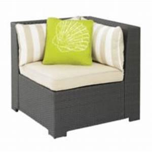 cabana collection wicker patio sectional corner chair With outdoor sectional sofa canadian tire
