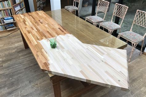 plan de travail bureau sur mesure aménager sa cuisine avec des plans de travail en bois massif