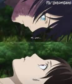 Noragami Yato Kiss X Hiyori