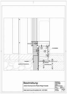 Schüco Pfosten Riegel : a 03 0021 unterer anschluss einer pfosten riegel fassade a 03 0021 architektur pinterest ~ Frokenaadalensverden.com Haus und Dekorationen
