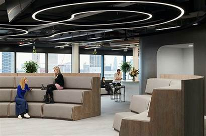 Office Fintech London Architecture Workspace Innovation Seating