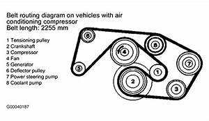 I Need A Diagram For 1992 Mercedes 190e Serpentine Belt