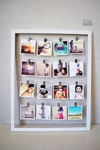 Creative diy photo display wall art ideas