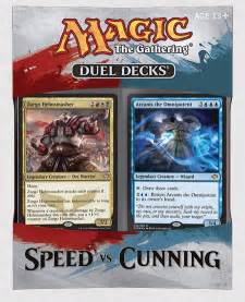 duel decks speed vs cunning magic the gathering