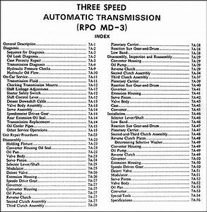 1977 Chevette 3 Speed Automatic Transmission Repair Shop