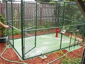48 best images about dog 39play yard39 ideas on pinterest for Dog kennel flooring home depot