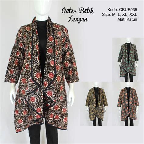 outer batik lengan motif batik wanita exclusive murah batikunik