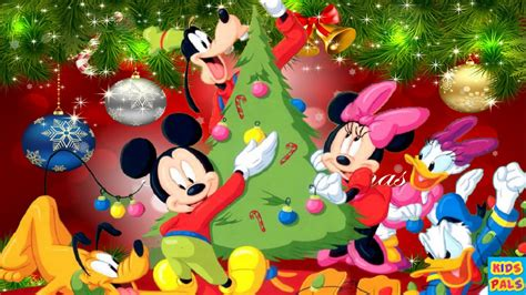 disney we wish you a merry christmas disney christmas music carols songs medley with mickey
