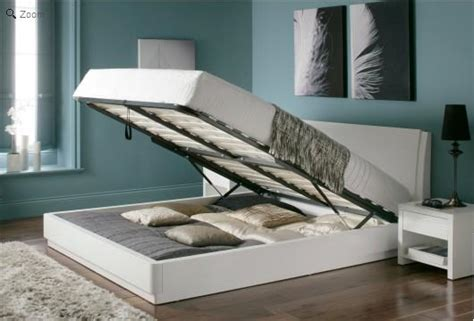 White Ottoman Bed Small by White Wooden Ottoman Bed Homehighlight Co Uk