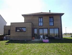 Maison En L Moderne : maison bois d 39 architecte cubique nos maisons ossatures bois maison cubique ~ Melissatoandfro.com Idées de Décoration