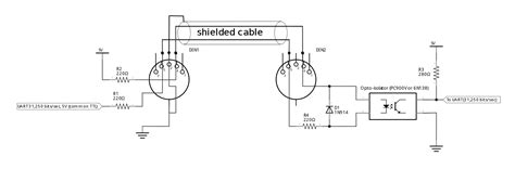 midi to usb pinout diagram 26 wiring diagram images