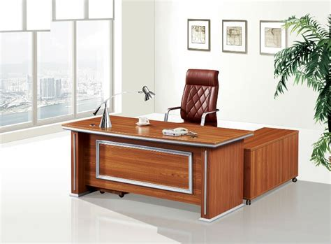 Writing Desk For Sale by Modern High Quality Wooden Aluminum Executive Table Boss