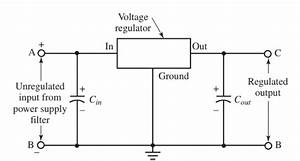 Voltage Regulator  Working Principle  U0026 Circuit Diagram