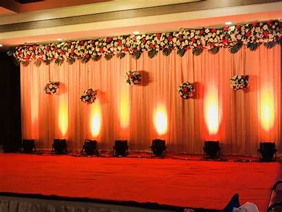 Simple Stage Decorations Reception Decoration Richa Bhadke