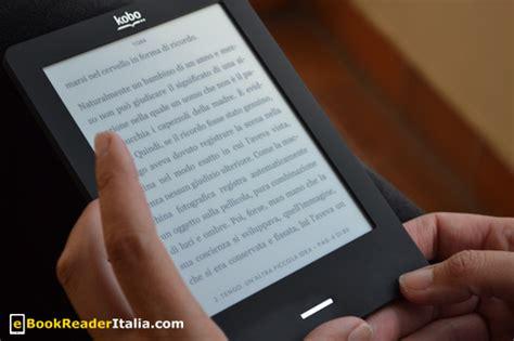 kobo touch illuminazione kobo touch recensione lettore ebook in italia con