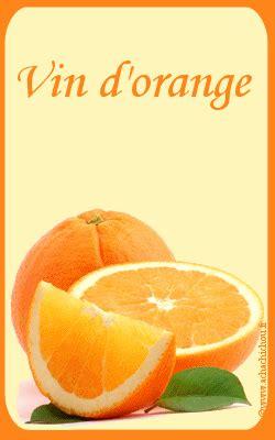 vin d orange maison etiquettes de vin gratuites a imprimer
