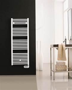 Seche Serviette Radiateur : radiateur seche serviettes primeo 2 blanc electrique ~ Edinachiropracticcenter.com Idées de Décoration
