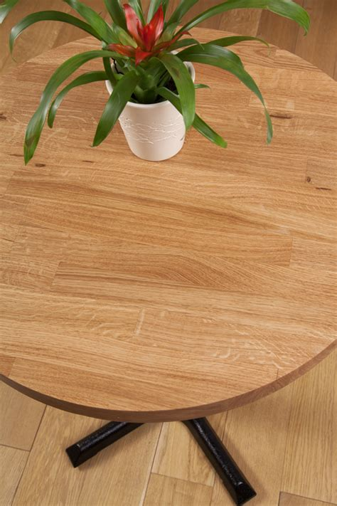 solid oak restaurant tabletop  mm