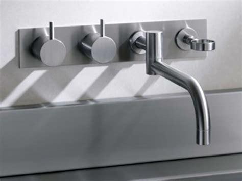 robinet de cuisine mural 634t4 robinet de cuisine by vola