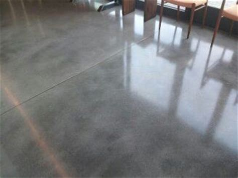 natural grey concrete floor  sealer