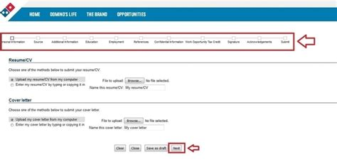 how to apply for domino s at dominos