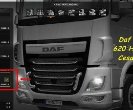 lightbox daf xf 105 scs and 50keda 1 21 ets 2 mods