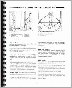 Ford 575d Tractor Loader Backhoe Operators Manual