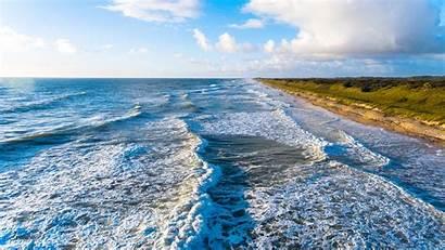 Jacksonville Ocean Fl Sunset Wave Usa Pantai