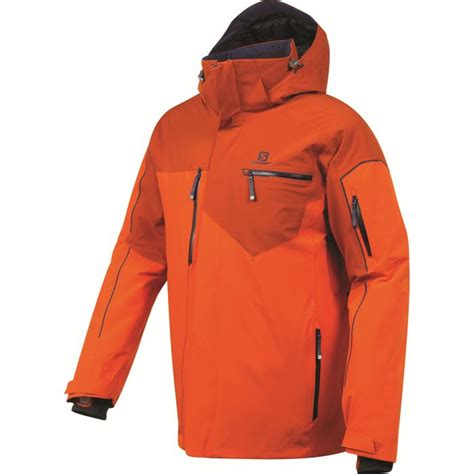 veste cuisine homme veste de ski homme salomon