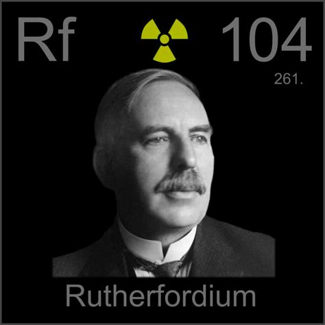 poster sample  sample   element rutherfordium
