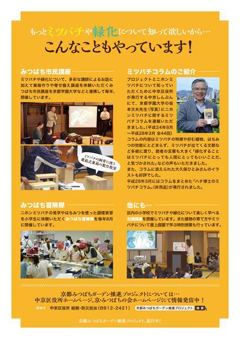 サイトマップ  京・みつばちの会