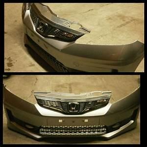 Honda Fit  Jazz Usdm Front Grill  Rs Design    2nd Gen Ge6