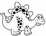 Coloring Pages Dinosaur Popular sketch template
