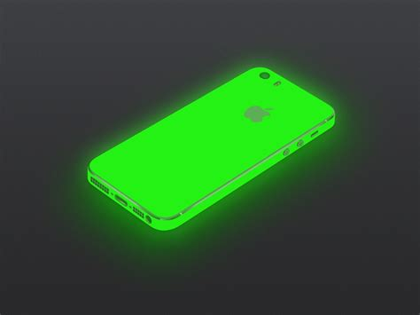 green iphone green glow iphone 5 5s iphone 5 5s luxstyle nz
