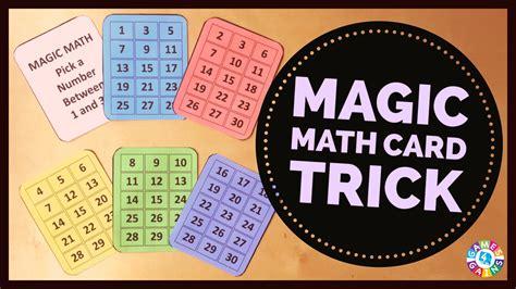 amaze  students   math magic trick games