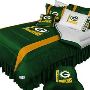 nfl green bay packers football queen full bed comforter set contemporary kids bedding by