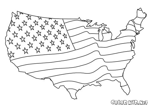 coloring page  united states  america
