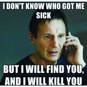 Funny Memes About Being Sick