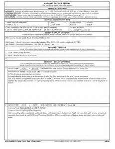 Army Warrant Officer Resume Summary by Great Resume Titles Exles