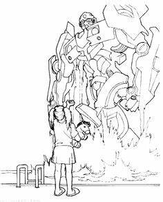 Optimus Prime Transformers Coloring Picture For Kids