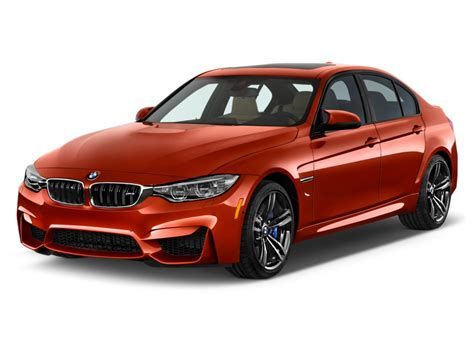 2015 Bmw M3 4-door Sedan Angular Front Exterior