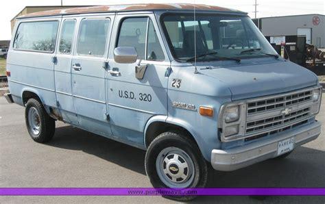 all car manuals free 1993 chevrolet sportvan g30 on board diagnostic system 1986 chevrolet g30 sport van item 2137 sold april 13 go