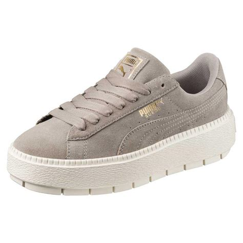e117510842fa 1000 x 1000 www.dressinn.com. Puma select Suede Platform Trace Grey buy and  offers ...