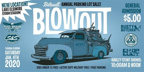 Some sellers also offer thank. The Biltwell 2020 Blowout Parking Lot Sale Jan 4, 2020