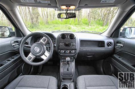jeep crossover interior review 2012 jeep patriot latitude 4x4 a compact