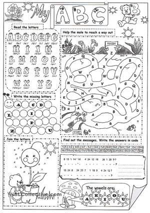 abc  images abc worksheets abc printables