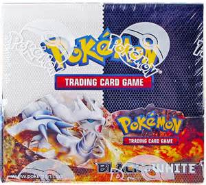 pokemon usa pokemon black and white booster box