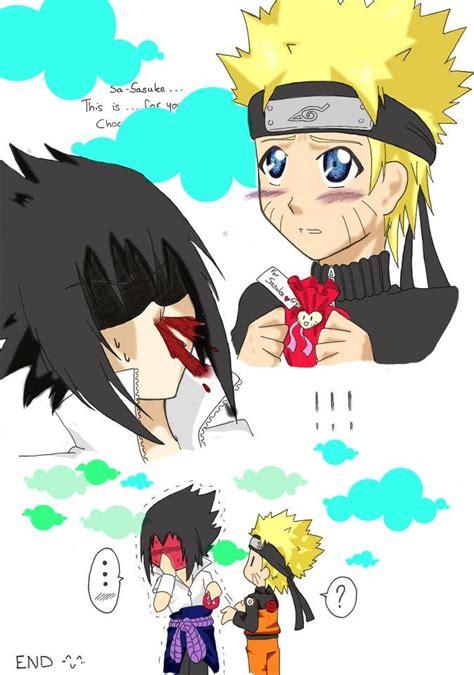 sasunaru funny sasunaru cute naruto  sasuke kiss